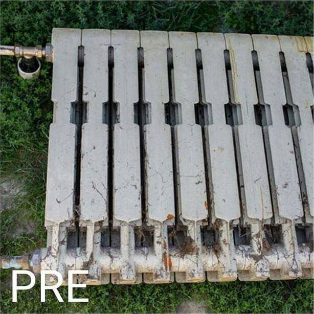 radijator pre peskarenja